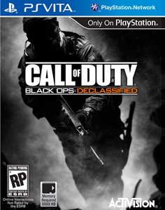 Call Of Duty: Black Ops: Declassified Vita