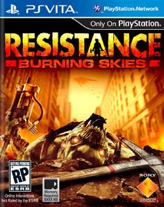 Resistance: Burning Skies Vita