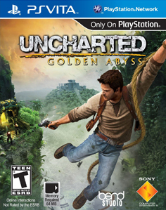 Uncharted: Golden Abyss Vita