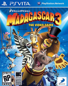 Madagascar 3: The Video Game Vita