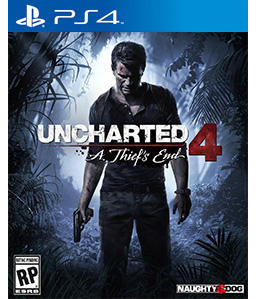 Uncharted 4: A Thief\'s End PS4