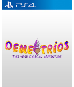 Demetrios - The BIG Cynical Adventure PS4