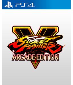 Street Fighter V: Arcade Edition PS4
