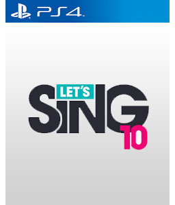 Let\'s Sing 10 PS4