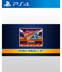 World Heroes 2 Jet PS4