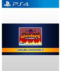 Samurai Shodown III PS4