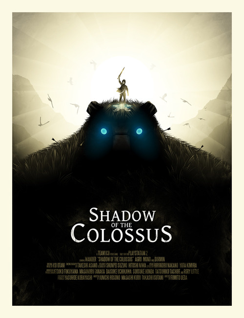Shadow of the Colossus by Iwilding