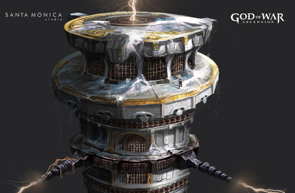 New God of War: Ascension concept art by Jung Park