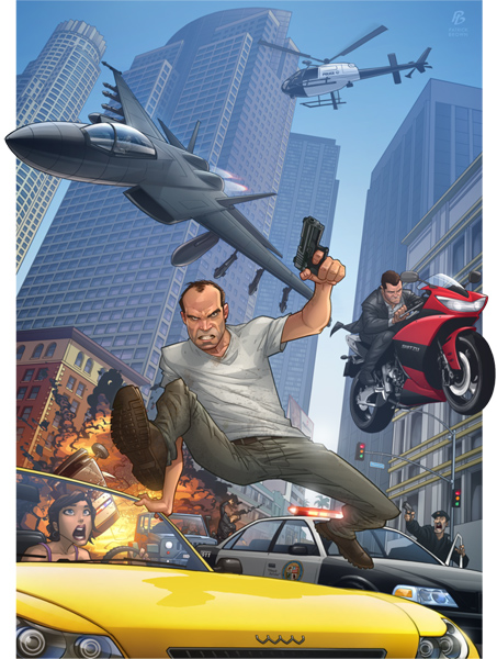 Grand Theft Auto V by Patrick Brown