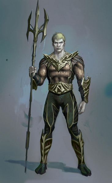 Injustice: Gods Among Us concept art