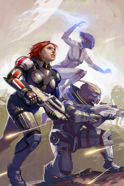 Mass Effect Fan Art by Lizzy John