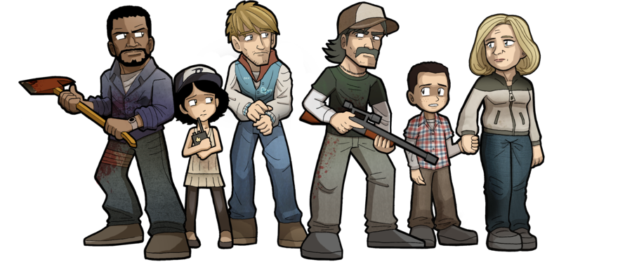 The Walking Dead: The Game by Sandika Rakhim