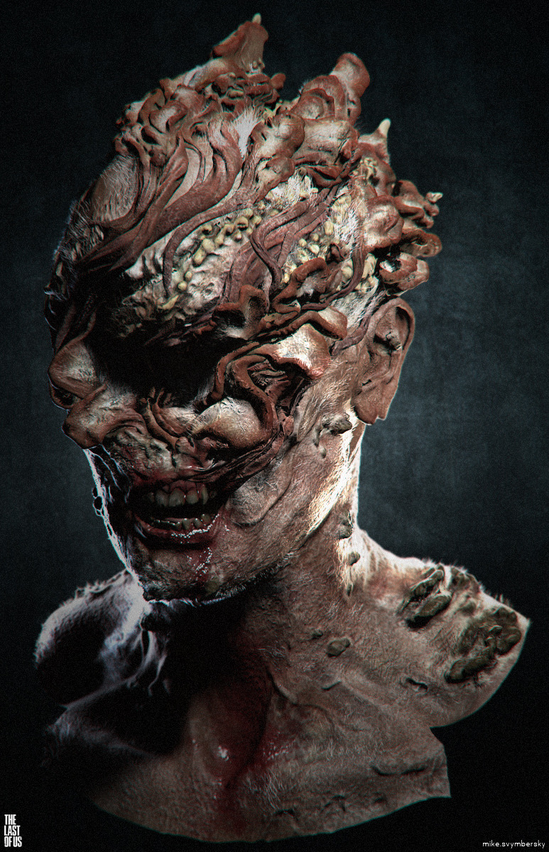The Last of Us infected up close and personal