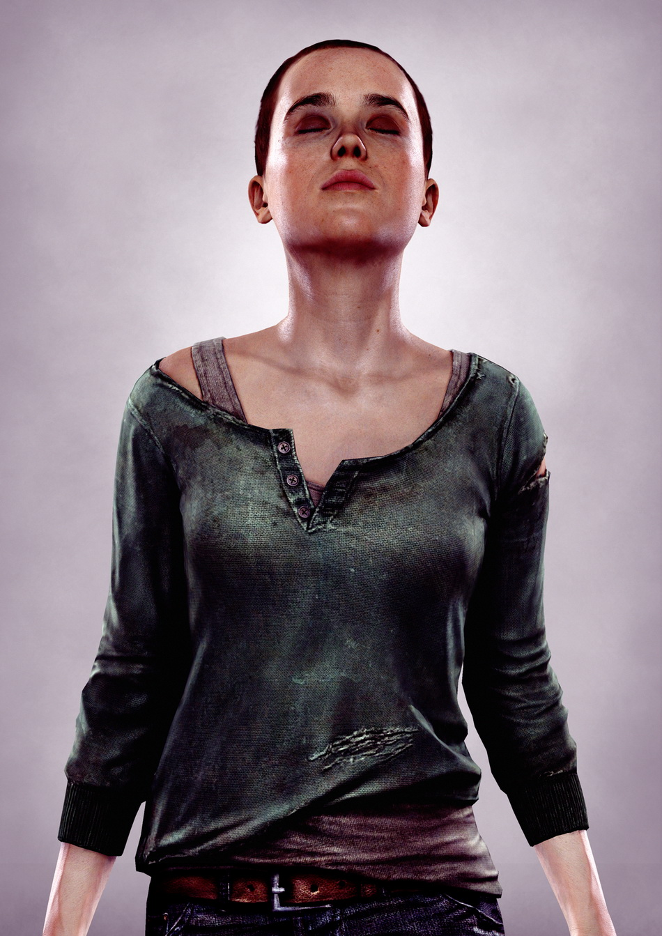 High-res Ellen Page renders from Beyond: Two Souls Ellen Page Game