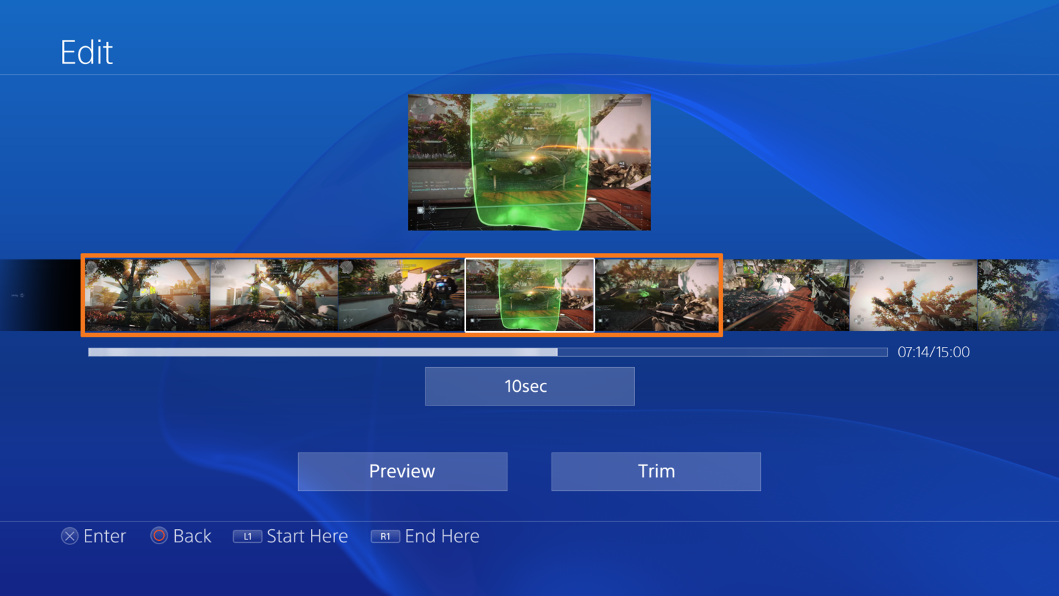 More ps4 ui screenshots for Ps4 at home