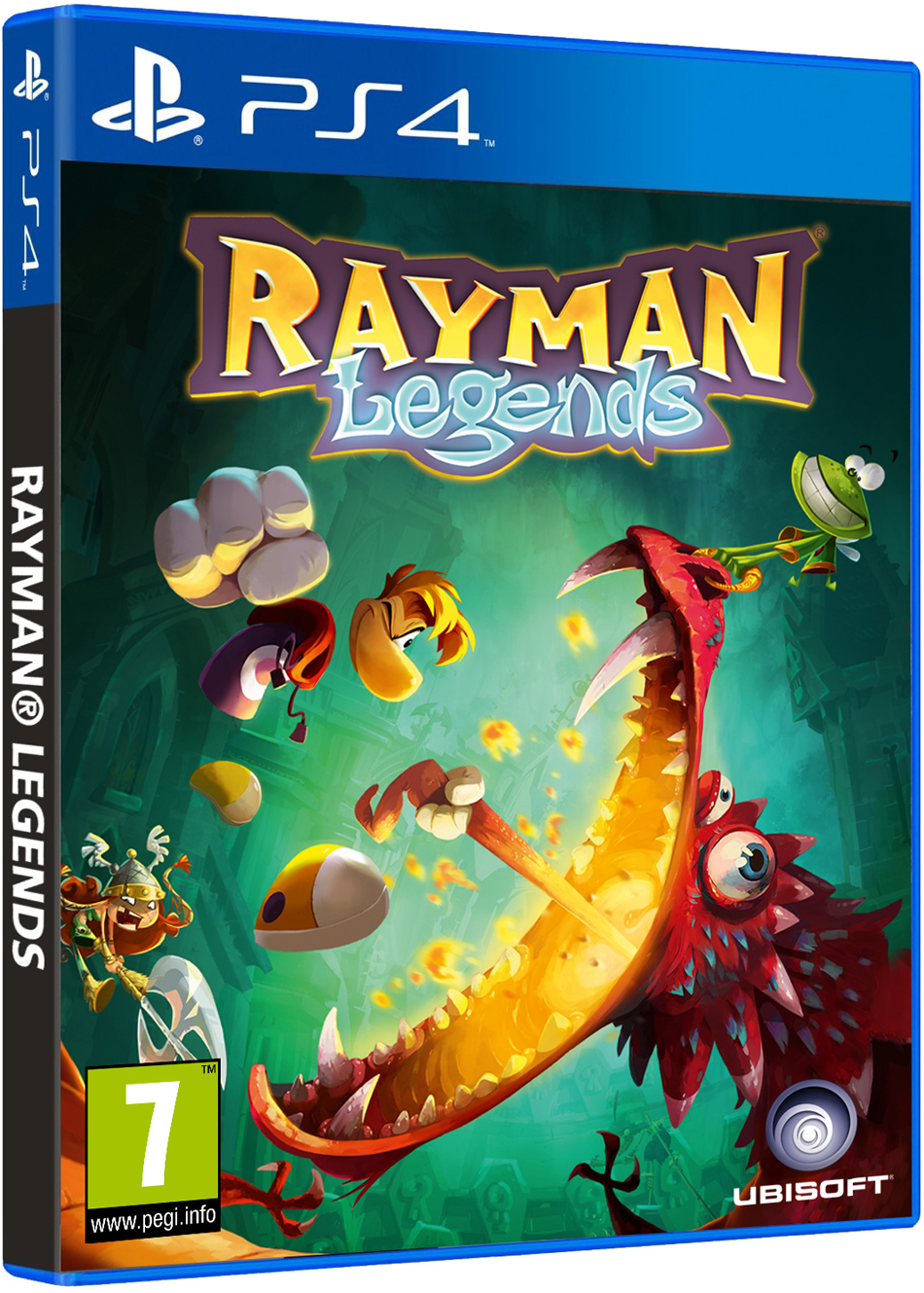 Rayman Legends coming to PlayStation 4 in February