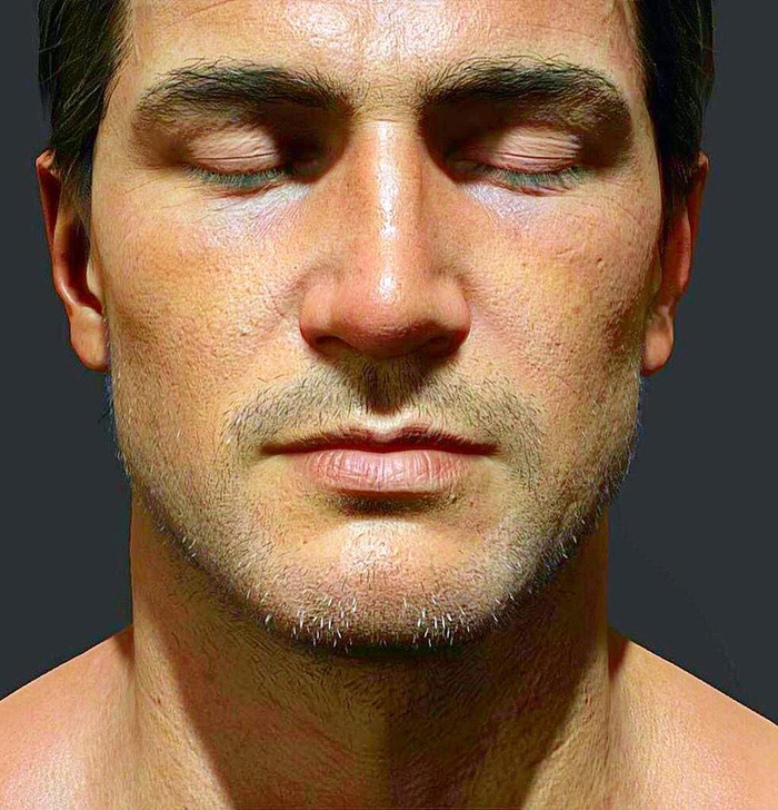 Color-Corrected Nathan Drake leaves uncanny valley behind - Looks photorealistic