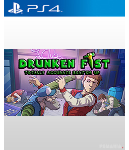 Drunken Fist: Totally Accurate Beat \'em up PS4
