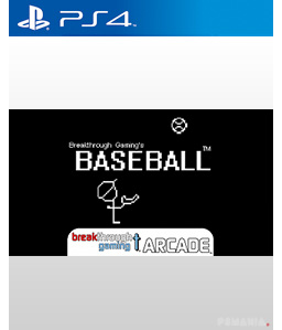 Baseball - Breakthrough Gaming Arcade PS4