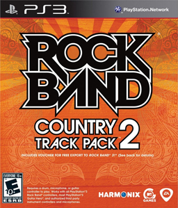Rock Band Country Track Pack 2 PS3