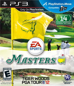 Tiger Woods PGA 12: The Masters PS3