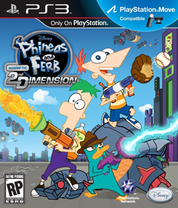 Phineas & Ferb: Across The 2nd Dimension PS3