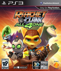Ratchet & Clank: All 4 One PS3