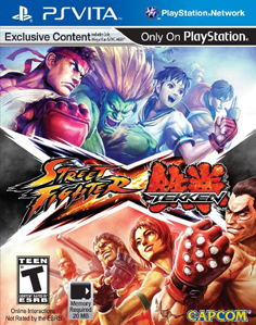 Street Fighter X Tekken Vita Vita