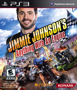 Jimmie Johnson\'s Anything With An Engine PS3