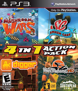 4-in-1 Action Pack PS3