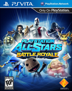 PlayStation All-Stars Battle Royale Vita Vita