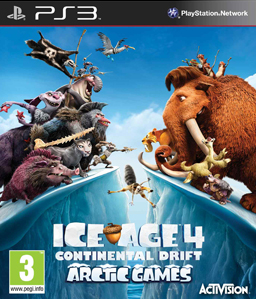 Ice Age 4: Continental Drift: Arctic Games PS3