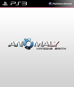 Anomaly Warzone Earth PS3