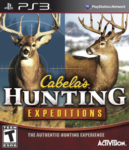 Cabela\'s Hunting Expeditions PS3