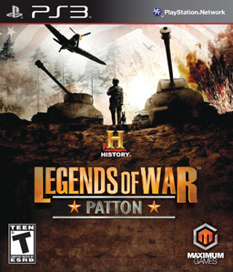 History: Legends of War Patton PS3
