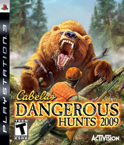 Cabela\'s Dangerous Hunts 2009 PS3
