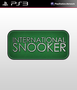 International Snooker PS3