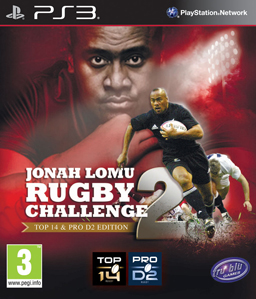 Jonah Lomu Rugby Challenge 2 PS3