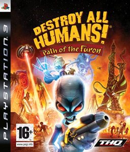 Destroy All Humans! Path of the Furon PS3