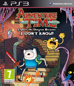 Adventure Time: Explore the Dungeon Because I DON\'T KNOW! PS3