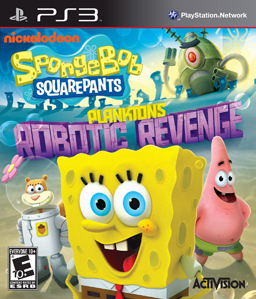 SpongeBob SquarePants: Plankton\'s Robotic Revenge PS3