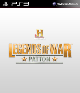 History: Legends of War Patton (Digital) PS3