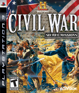 The History Channel Civil War: Secret Missions PS3