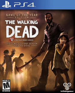 The Walking Dead: Game of the Year Edition PS4