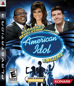 Karaoke Revolution Presents: American Idol Encore PS3