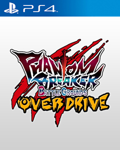 Phantom Breaker: Battle Grounds Overdrive PS4