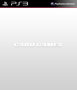 Card Games PS3