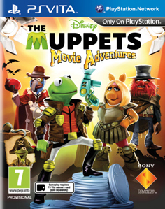 The Muppets Movie Adventure Vita