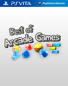 Best of Arcade Games Vita