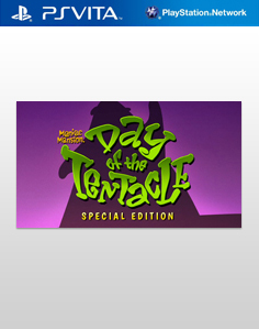 Day of the Tentacle Remastered Vita Vita